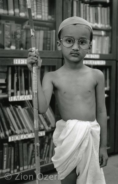 """Purim's Gandhi"", Mumbai, India"