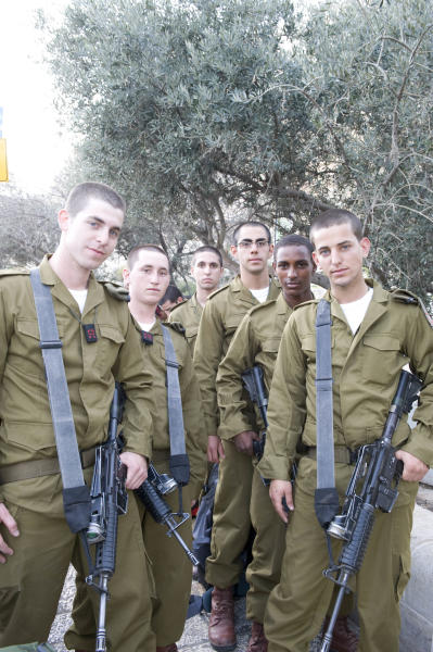 Paratroopers, about to Swear Allegiance, Jerusalem.