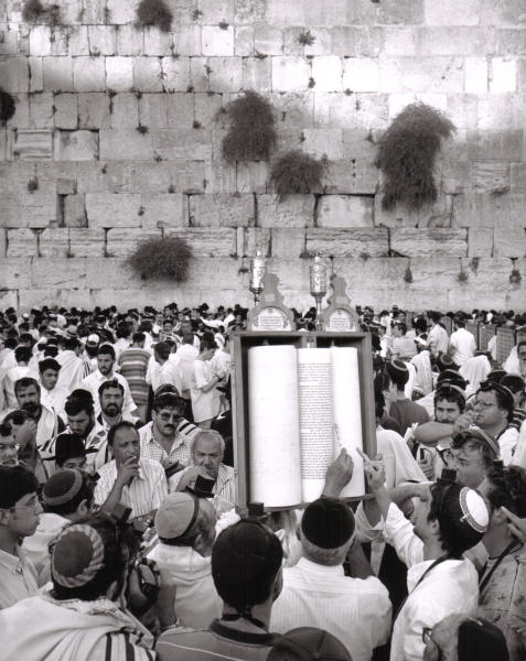 Tisha' Be'Av, Western Wall.