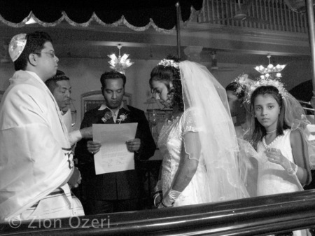 """B'nai Yisrael Wedding"", India"
