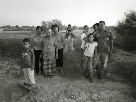 Family, Origins India, Moshav Nevatim.